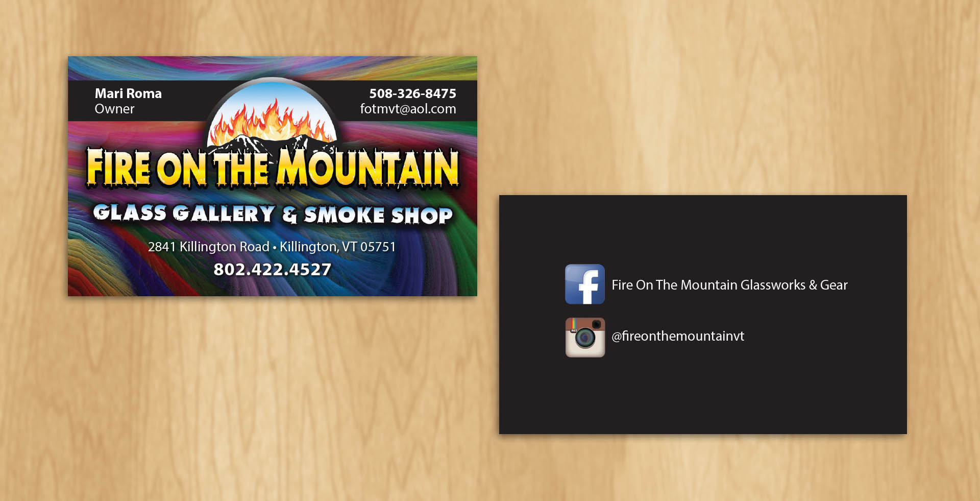 Business card design boss office works reheart Image collections