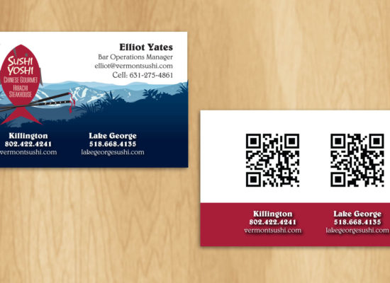 Business cards gallery categories boss office works sushi yoshi business cards reheart Gallery